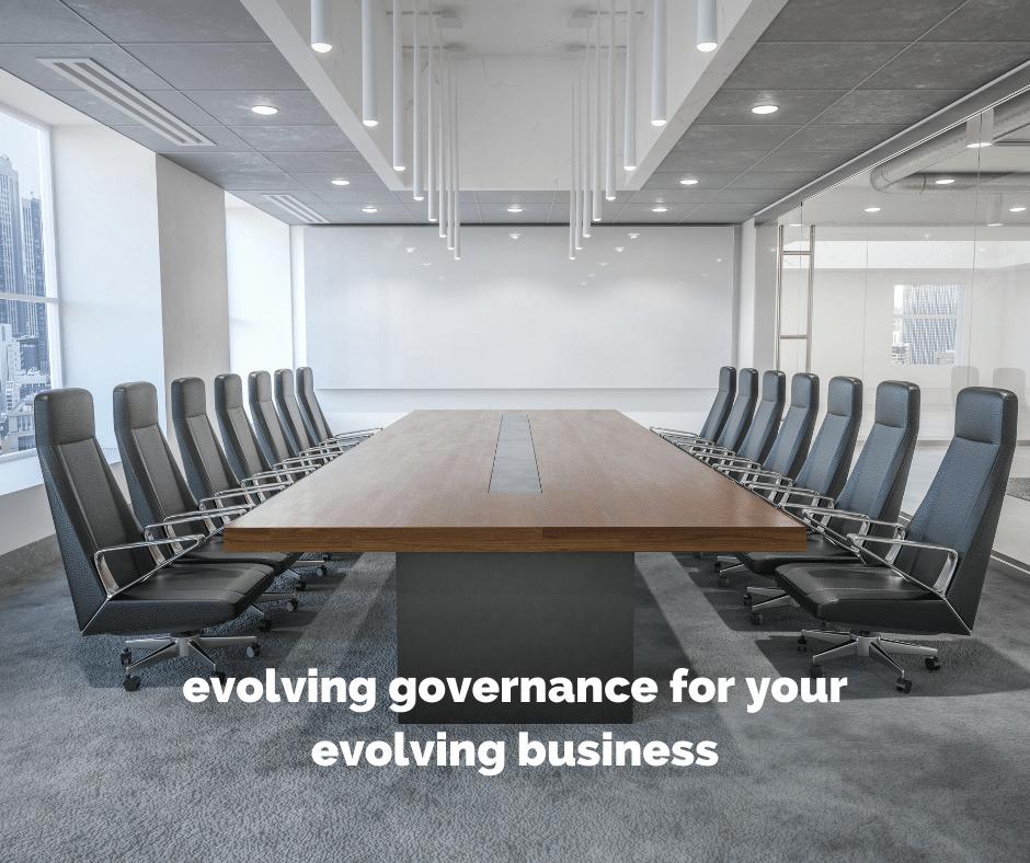 evolving governance